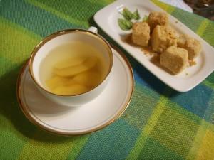 thé au coing