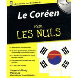 le coreen pour les nuls