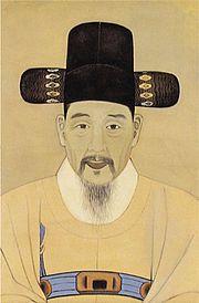 Portrait peint du gouverneur Park Gyusu (1807-1877)
