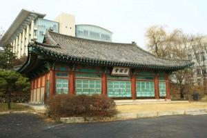 """bâtiment dénommé """"Bicheondang"""" se trouvant sur le site de l'université Skku"""